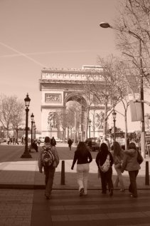 Paris, 2005. Just as romantic then as it is now ♥
