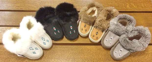 ladies-sheepskin-rabbit-fur-slippers
